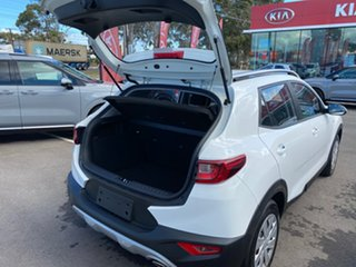2021 Kia Stonic YB MY21 S FWD Clear White 6 Speed Automatic Wagon