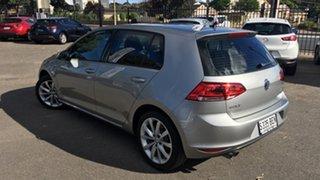 2014 Volkswagen Golf VII MY15 110TDI DSG Highline Billet Silver 6 Speed Sports Automatic Dual Clutch.
