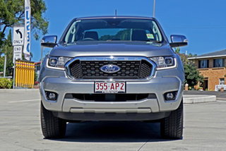 2020 Ford Ranger PX MkIII 2021.25MY XLT Silver 6 Speed Sports Automatic Double Cab Pick Up.