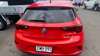 2016 Holden Astra BK MY17 RS-V Red 6 Speed Manual Hatchback.