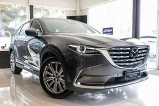 2021 Mazda CX-9 TC Azami LE SKYACTIV-Drive i-ACTIV AWD Machine Grey 6 Speed Sports Automatic Wagon.