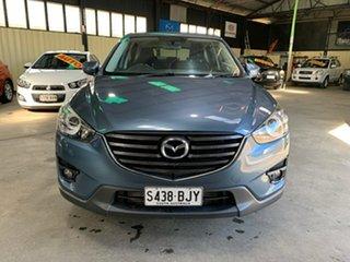 2016 Mazda CX-5 MY15 Maxx Sport (4x4) Blue 6 Speed Automatic Wagon