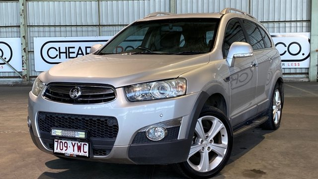 Used Holden Captiva CG Series II 7 AWD LX Rocklea, 2012 Holden Captiva CG Series II 7 AWD LX Silver 6 Speed Sports Automatic Wagon