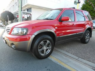 2007 Ford Escape ZC XLS Red 4 Speed Automatic Wagon.