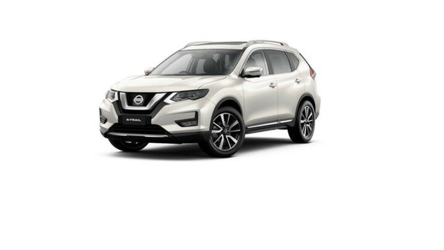 New Nissan X-Trail T32 MY21 Ti X-tronic 4WD Moorooka, 2021 Nissan X-Trail T32 MY21 Ti X-tronic 4WD Ivory Pearl 7 Speed Constant Variable Wagon