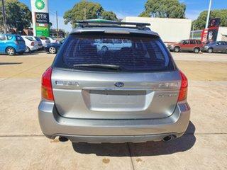 2006 Subaru Outback B4A MY06 Premium Pack D/Range AWD Silver 5 Speed Manual Wagon