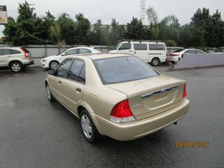 2001 Ford Laser KN LXI Gold 4 Speed Automatic Sedan
