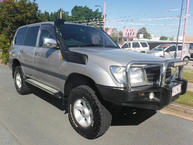 Used Toyota Landcruiser 100 GXL Margate, 2001 Toyota Landcruiser 100 GXL Gold 5 Speed Automatic Wagon