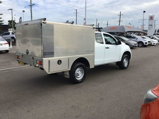 2014 Isuzu D-MAX MY15 SX Space Cab White 5 Speed Sports Automatic Cab Chassis.