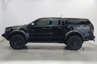 2019 Ford Ranger PX MkIII 2019.75MY Raptor Black 10 Speed Sports Automatic Double Cab Pick Up.