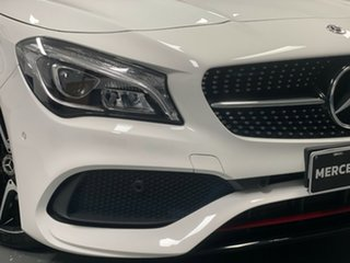 2018 Mercedes-Benz CLA-Class C117 808+058MY CLA250 DCT 4MATIC Sport White 7 Speed