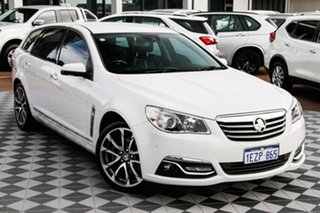 2015 Holden Calais VF II MY16 V Sportwagon White 6 Speed Sports Automatic Wagon.