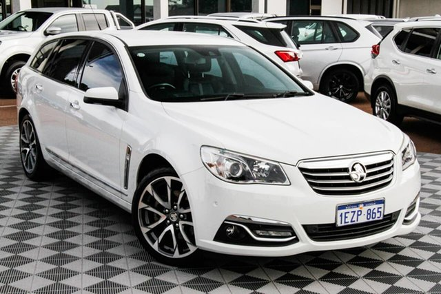 Used Holden Calais VF II MY16 V Sportwagon Attadale, 2015 Holden Calais VF II MY16 V Sportwagon White 6 Speed Sports Automatic Wagon