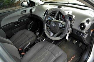 2011 Holden Barina TM Silver 5 Speed Manual Hatchback