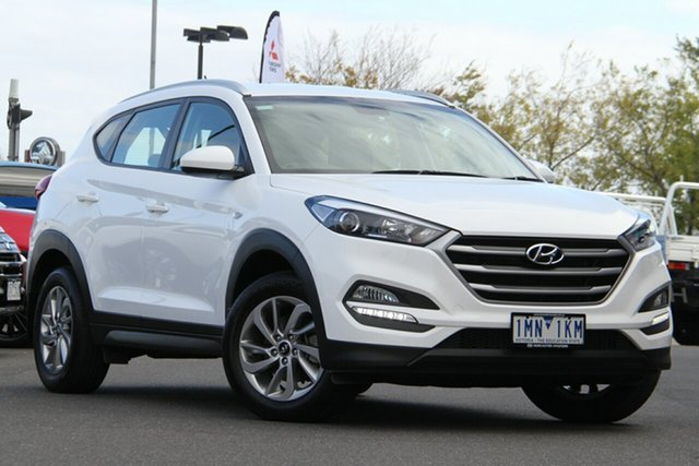 Used Hyundai Tucson TL2 MY18 Active 2WD Essendon Fields, 2018 Hyundai Tucson TL2 MY18 Active 2WD White 6 Speed Sports Automatic Wagon