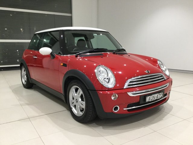 Used Mini Hatch R50 MY05 Cooper Alexandria, 2005 Mini Hatch R50 MY05 Cooper Chilli Red 6 Speed Constant Variable Hatchback