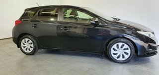 2013 Toyota Corolla ZRE182R Ascent S-CVT Black 7 Speed Constant Variable Hatchback