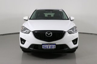 2013 Mazda CX-5 Grand Tourer (4x4) White 6 Speed Automatic Wagon.