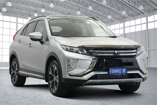 Used Mitsubishi Eclipse Cross YA MY18 Exceed 2WD Victoria Park, 2018 Mitsubishi Eclipse Cross YA MY18 Exceed 2WD Sterling Silver 8 Speed Constant Variable Wagon