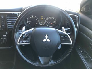 2013 Mitsubishi Outlander ZJ MY14 LS 2WD White 6 Speed Constant Variable Wagon