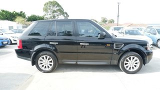 2008 Land Rover Range Rover Sport L320 08MY TDV6 Black 6 Speed Sports Automatic Wagon