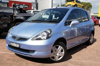 2002 Honda Jazz GLi Blue Continuous Variable Hatchback.