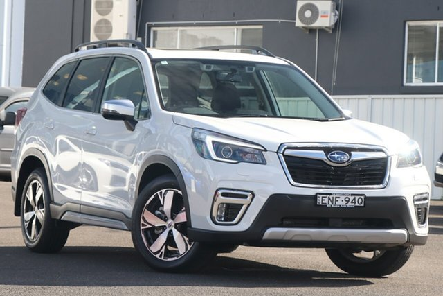 Demo Subaru Forester S5 MY21 2.5i-S CVT AWD Brookvale, 2021 Subaru Forester S5 MY21 2.5i-S CVT AWD Crystal White 7 Speed Constant Variable Wagon