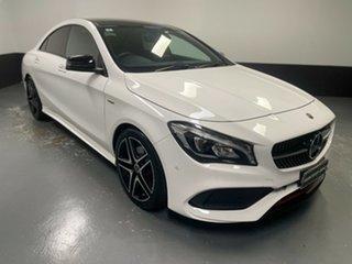 2018 Mercedes-Benz CLA-Class C117 808+058MY CLA250 DCT 4MATIC Sport White 7 Speed.