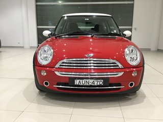 2005 Mini Hatch R50 MY05 Cooper Chilli Red 6 Speed Constant Variable Hatchback