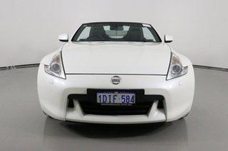 2010 Nissan 370Z Z34 MY10 White 6 Speed Manual Roadster.
