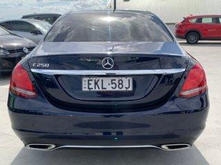 2015 Mercedes-Benz C-Class W205 C250 7G-Tronic + Blue 7 Speed Sports Automatic Sedan.