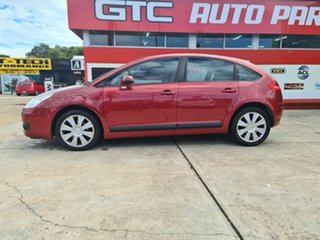 2008 Citroen C4 Red 4 Speed Automatic Hatchback