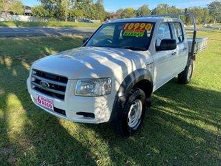 2008 Ford Ranger PJ XL Crew Cab 4x2 Hi-Rider 5 Speed Manual Utility.