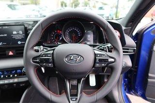 2021 Hyundai i30 CN7.V1 MY21 N Line D-CT Intense Blue 7 Speed Sports Automatic Dual Clutch Sedan