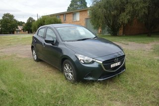 2015 Mazda 2 DJ2HAA Maxx SKYACTIV-Drive Grey 6 Speed Sports Automatic Hatchback.
