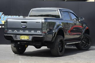 2015 Ford Ranger PX MkII XLT Double Cab 4x2 Hi-Rider Dark Grey 6 Speed Sports Automatic Utility