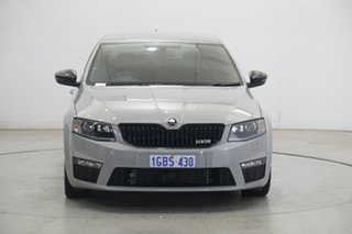 2015 Skoda Octavia NE MY16 RS Sedan DSG 162TSI Grey 6 Speed Sports Automatic Dual Clutch Liftback.