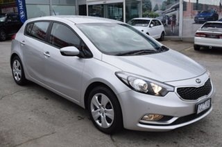 2014 Kia Cerato YD MY14 S Billet Silver 6 Speed Sports Automatic Hatchback.