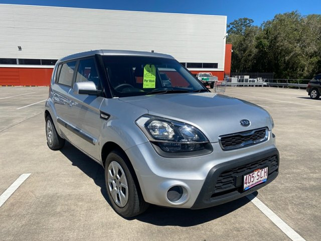 Used Kia Soul AM MY12 Morayfield, 2011 Kia Soul AM MY12 Silver 6 Speed Manual Hatchback