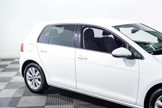 2013 Volkswagen Golf VII 90TSI DSG Comfortline White 7 Speed Sports Automatic Dual Clutch Hatchback