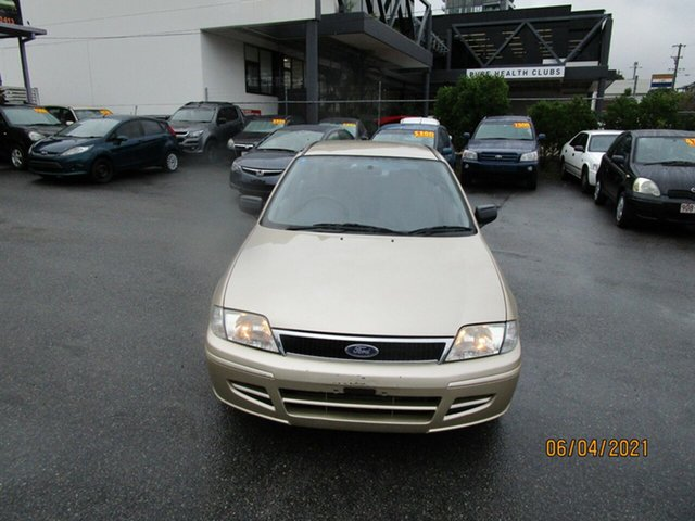 Used Ford Laser KN LXI Coorparoo, 2001 Ford Laser KN LXI Gold 4 Speed Automatic Sedan