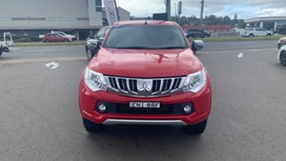 2015 Mitsubishi Triton MQ MY16 GLS Double Cab Red 6 Speed Manual Utility