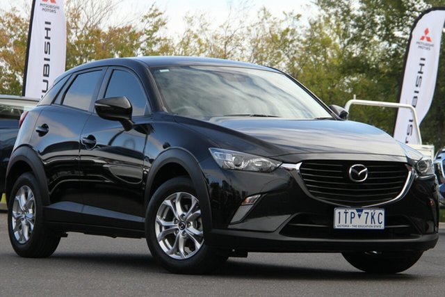 Used Mazda CX-3 DK2W7A Maxx SKYACTIV-Drive Essendon Fields, 2018 Mazda CX-3 DK2W7A Maxx SKYACTIV-Drive Black 6 Speed Sports Automatic Wagon