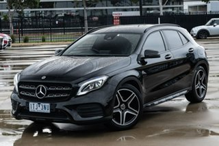 2017 Mercedes-Benz GLA-Class X156 807MY GLA180 DCT Black 7 Speed Sports Automatic Dual Clutch Wagon.