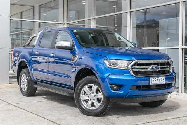 Used Ford Ranger PX MkIII 2020.75MY XLT Ferntree Gully, 2020 Ford Ranger PX MkIII 2020.75MY XLT Blue 10 Speed Sports Automatic Double Cab Pick Up