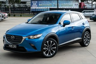 2019 Mazda CX-3 DK2W76 Maxx SKYACTIV-MT FWD Sport Blue 6 Speed Manual Wagon.