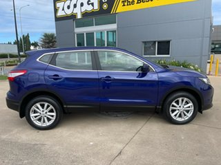 2017 Nissan Qashqai J11 ST Blue/301017 1 Speed Constant Variable Wagon.