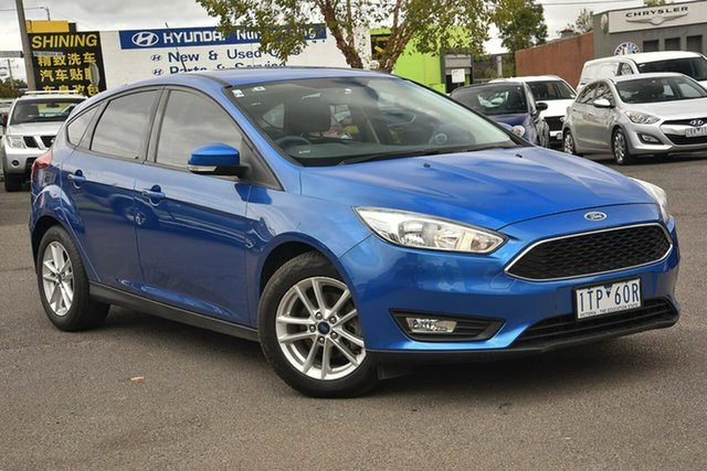 Used Ford Focus LZ Trend Nunawading, 2016 Ford Focus LZ Trend Blue 6 Speed Automatic Hatchback