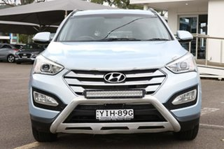 2014 Hyundai Santa Fe DM2 MY15 Active Blue 6 Speed Sports Automatic Wagon