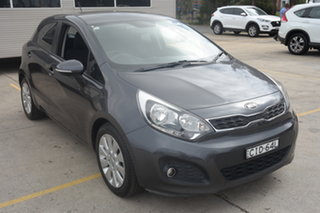 2012 Kia Rio UB MY12 SI Grey 6 Speed Sports Automatic Hatchback.